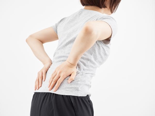 腰の痛みの写真